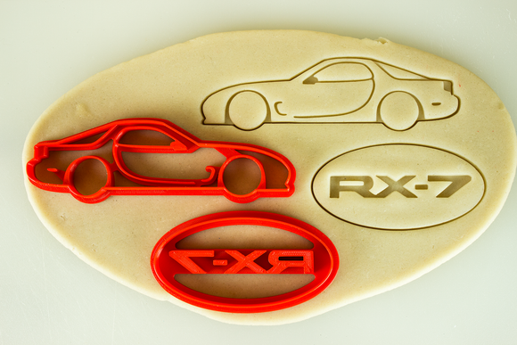 RX-7 FD Cookie Cutter Set