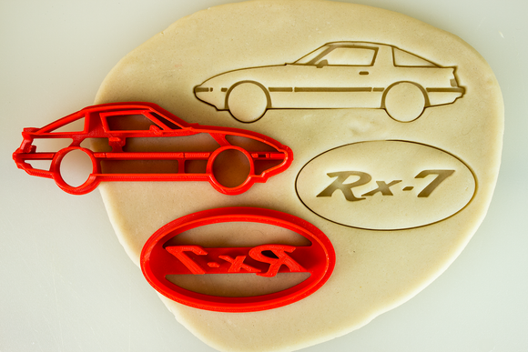 Mazda RX-7 SA22C FB Cookie Cutter Set