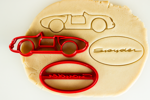 Porsche 550 Spyder Cookie Cutter Set