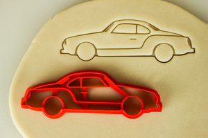 VW Volkswagen Karmann Ghia Cookie Cutter