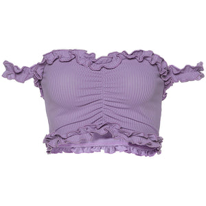 Crop Top Violeta