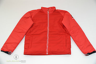 DAGALLO DAUNENJACKE OUTDOORJACKE SEGEL JACKE HERREN FASHION ROT