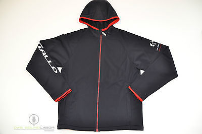 DAGALLO FLEECEJACKE MICROFLEECE SPORT-JACKE HERREN FASHION BLACK