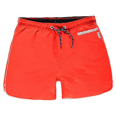 TUMBLE N DRY BADESHORTS BADEHOSE BADE SHORT KINDER JUNGEN/BOYS ORANGE/ GELB