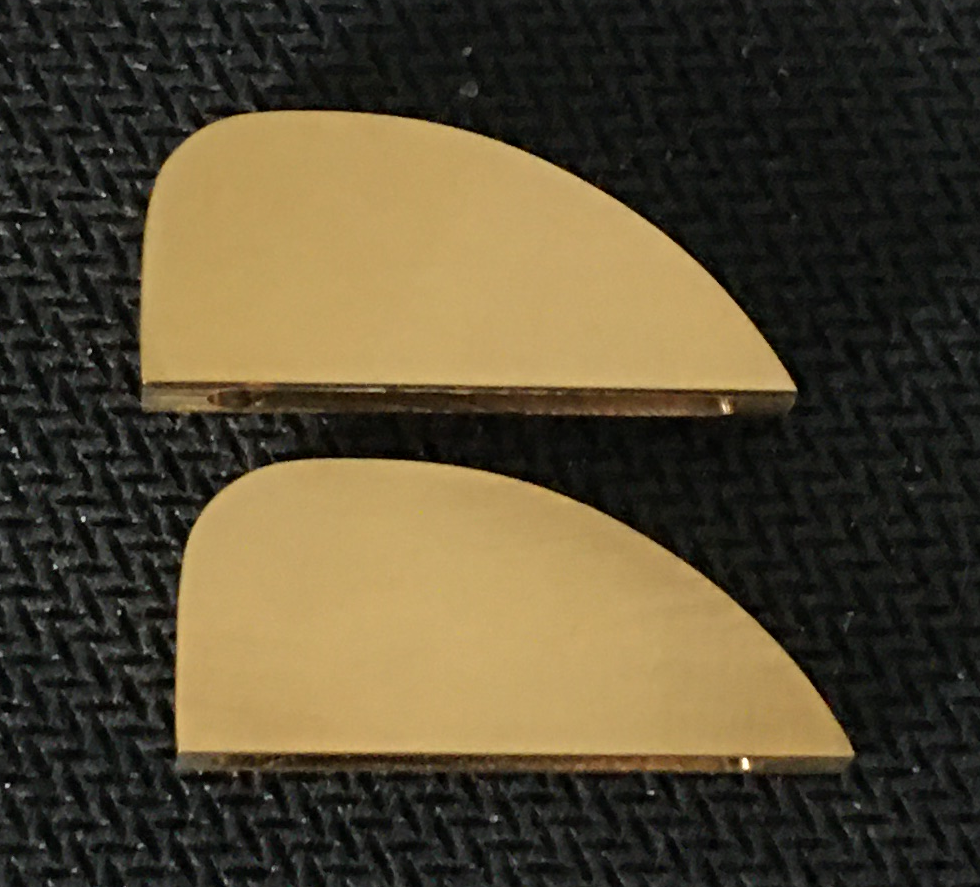 Ruger Vaquero 38/357 Brass Sights (Pair)