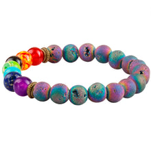 Load image into Gallery viewer, Peacock Ore Healing Bracelet