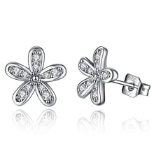 Load image into Gallery viewer, Daisy & Cherry Blossom Stud Earring