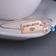 Load image into Gallery viewer, Namaste-OM Bracelet - Spandha