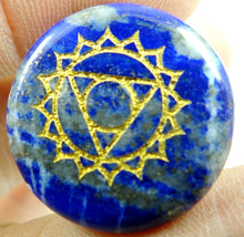 Load image into Gallery viewer, Carved Chakra Reiki Stone - Spandha