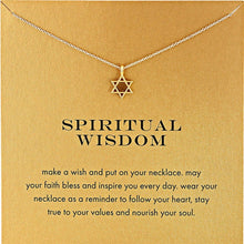 Load image into Gallery viewer, Star of David Necklace - Spandha