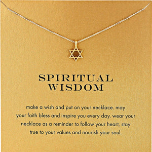 Star of David Necklace - Spandha