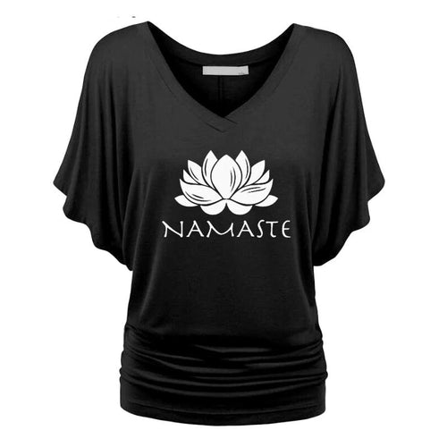 Lotus Yoga T-Shirt - Spandha