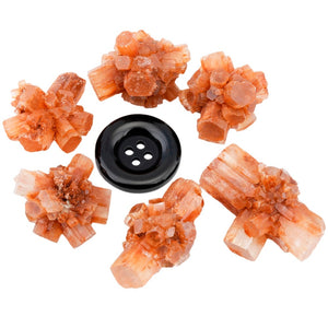 Natural Aragonite Crystal Cluster