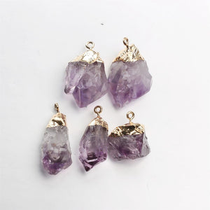 Natural Amethyst Necklace - Spandha