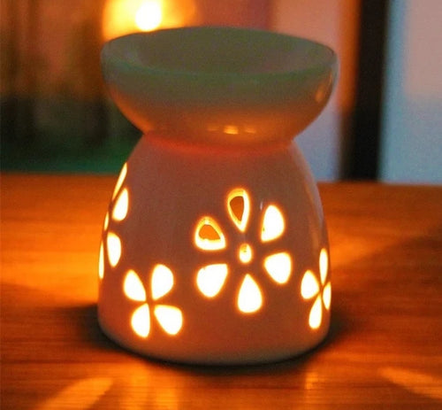 Ceramic Essential Aromatherapy Oil Burner - Spandha