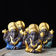Load image into Gallery viewer, Ceramic Ganesha Statue - Spandha