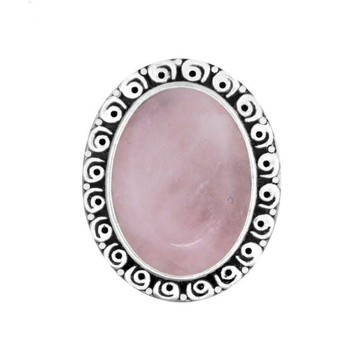 Oval Semiprecious stone Rings
