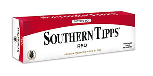 SOUTHERN TIPPS RED Carton - Tobacco & Nicotine Free - Herbal - Cigarette Alternative