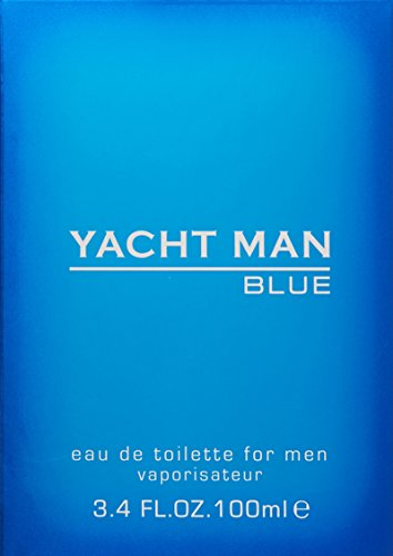 Yacht Man Blue Eau-de-toilette Spray, 3.4 Ounce