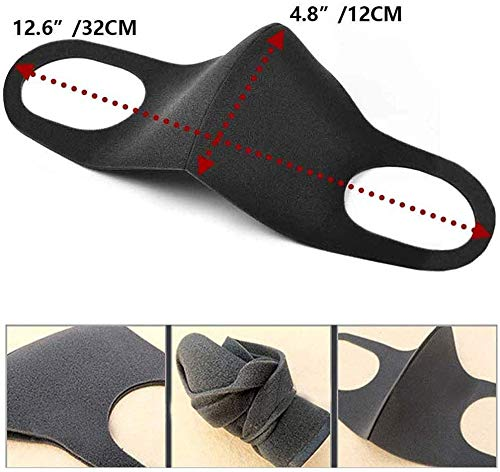 10PCS Anti Air Dust Cover,Unisex Mouth Cover