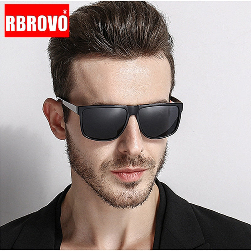 RBROVO 2018 Driving Polarized Sunglasses Men Brand Designer Classic  Sun Glasses Women/Men Outdoor Travel  Oculos De Sol
