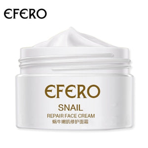 EFERO Hyaluronic Acid Face Cream Moisturizer Anti Wrinkle Cream Shrink Pores Whitening Face Cream Oil-Control Anti Acne SkinCare