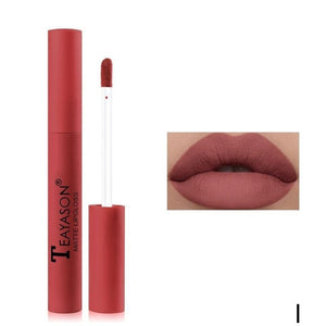 Matte Velvet Lip Gloss Liquid Lipstick Waterproof Long Lasting Moisturizing Lipstick Women Lip Tint Beauty Lip Makeup Cosmetics