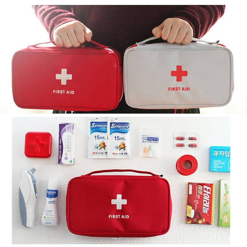 Portable Camping First Aid Kit Emergency Medical Bag Waterproof Kits Bag Travel Survival Kit Frist Aid Tool Outdoor Survival