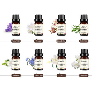 (8PCS)Elite99 Scented Fragrance Oil Gift Set 10ml For Humidifier Aroma Diffuser Bath Bomb Soaps Candle Parma Violet Freesia oil