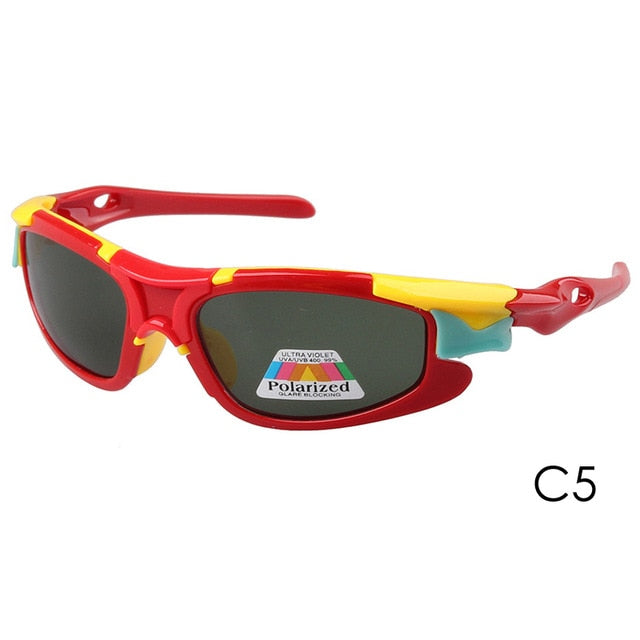 Pro Acme New Kids TAC Polarized Goggles Baby Children Sunglasses UV400 Sun glasses Boys Girls Cute Cool Glasses CC0605
