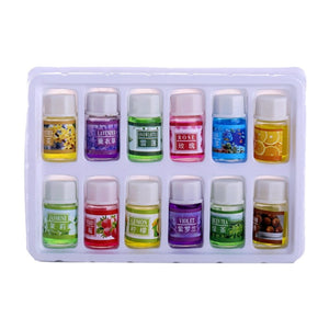 12 pcs/set Fragrance Essential Oils Pack Aromatherapy Spa Bath Massage Essential Oil Skin Care HOT SALE