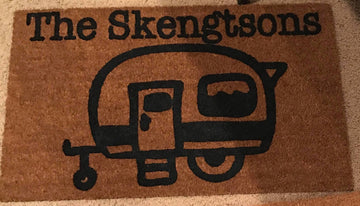 Workshop Camper Doormat