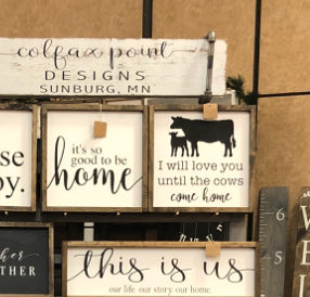Workshop 16x16 Cows Come Home