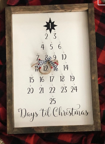 Workshop 12x17 Countdown to Christmas