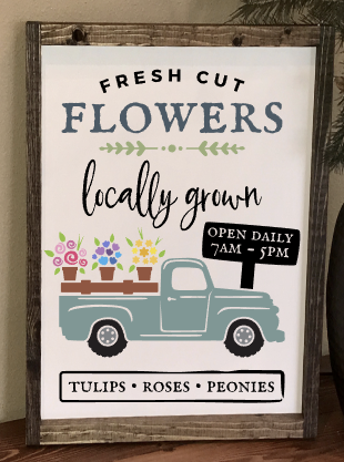 Workshop 12x17 Fresh Cut Flowers