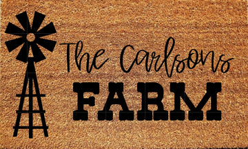 Workshop Farm Doormat
