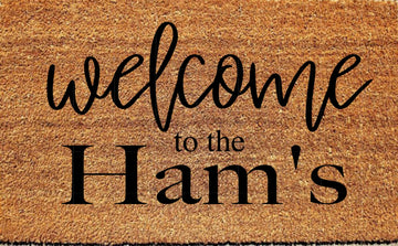 Workshop Welcome Doormat