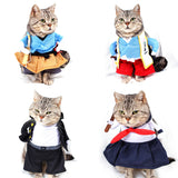 Cat Clothes Cosplay Pirate Costume For Pet Clothes Cartoon Cute Fashion