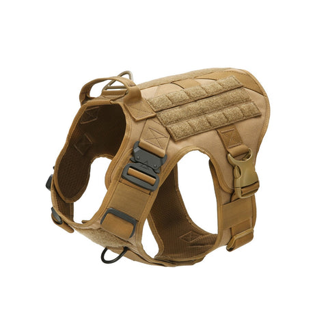 Tactical Dog Vest Breathable clothes harness adjustable size Training Hunting