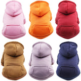 Cat Dog Clothes Warm Coat Jacket Pet Hoodies