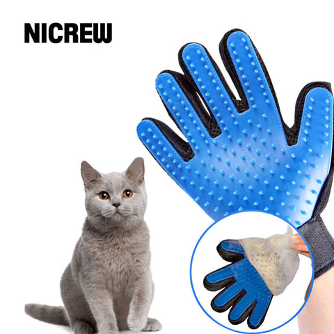 Deshedding Brush Glove For Animal Cat Supplies Pet Gloves Hair Comb Finger Glove Cleaning