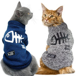Winter Cat Clothes Pet Puppy Dog Hoodies Kitten Kitty Outfits Coats Jackets Costumes
