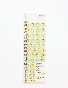 Midori Seal Collection Foliage Stickers