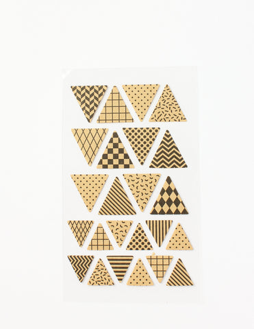 Kraft Paper Stickers Pennants