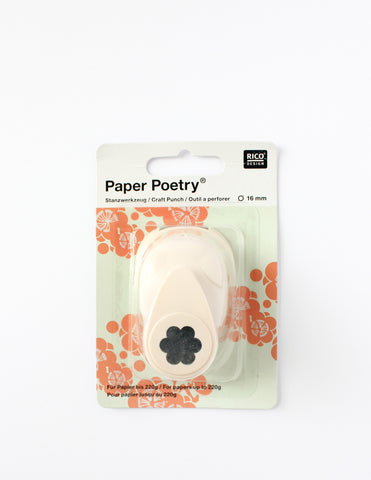 Flower 16mm Paper Punch