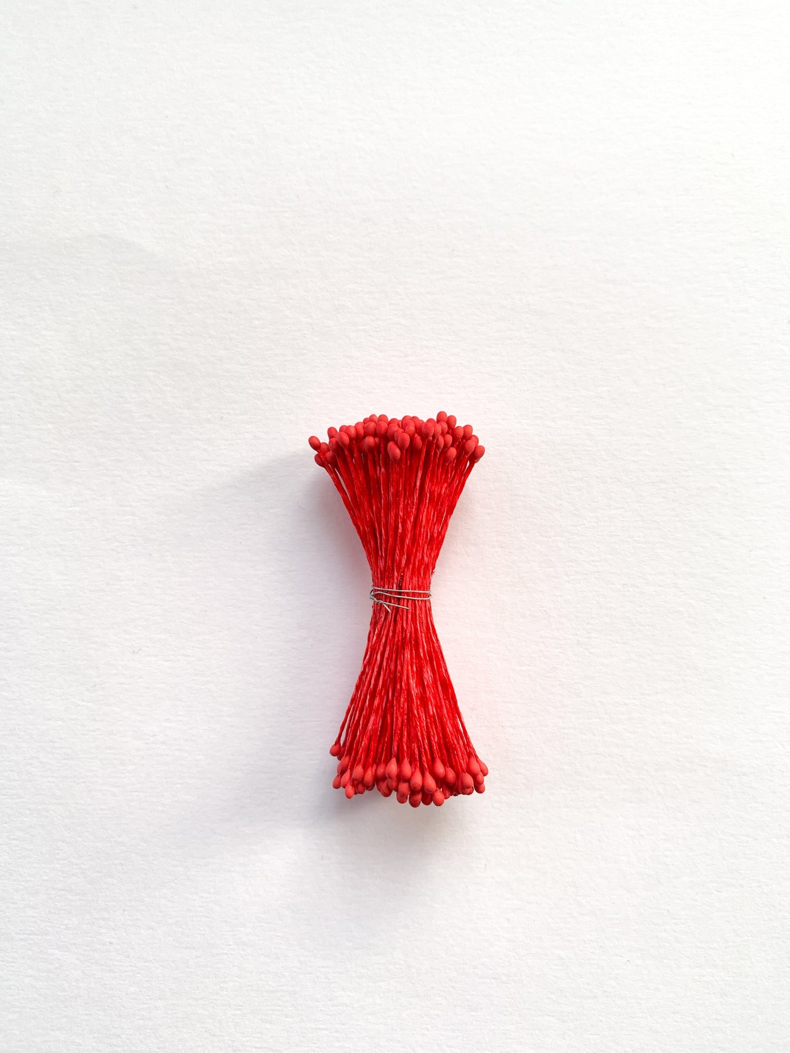 2mm Medium Red Flower Stamens