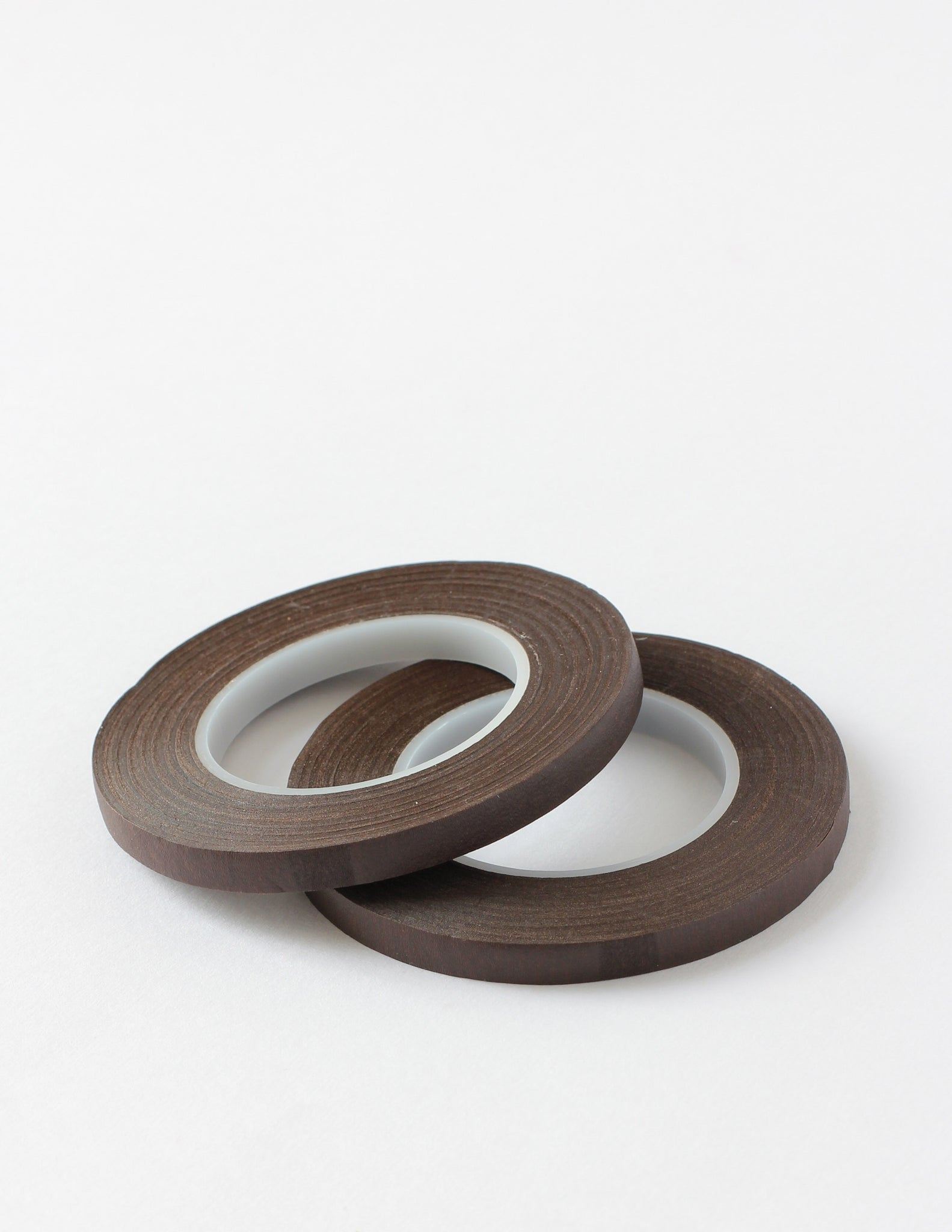 Slim Dark Brown Floral Tape