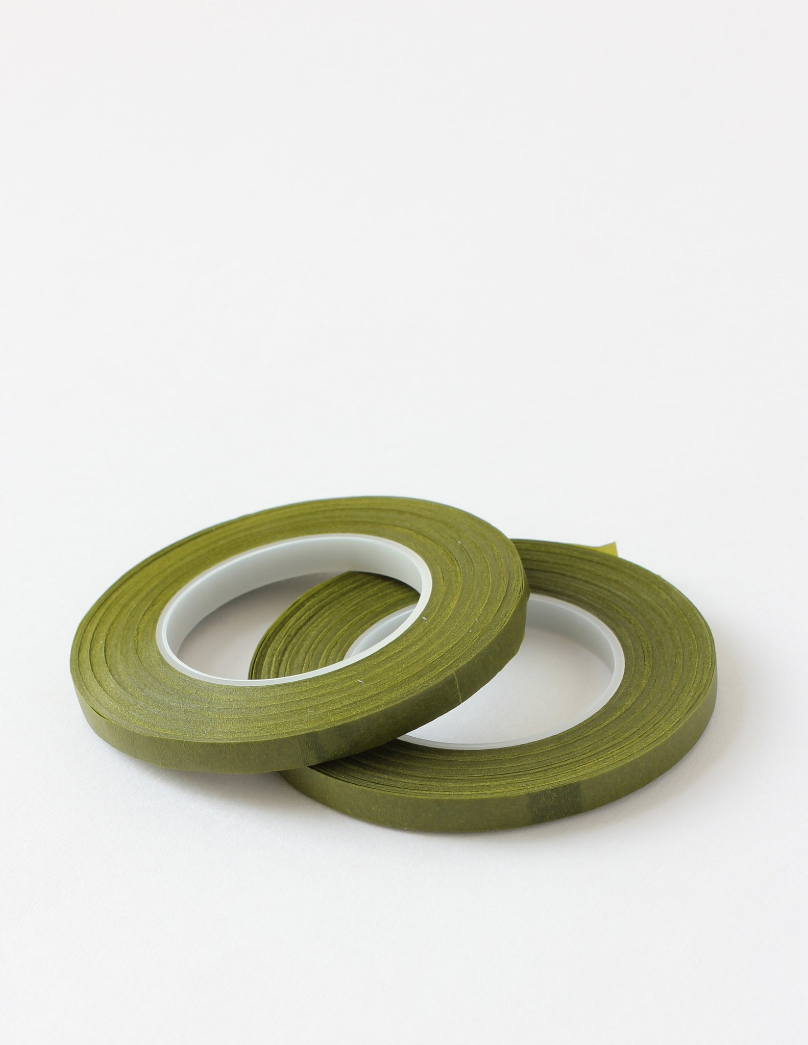 Slim Moss Green Floral Tape