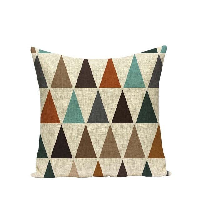 Woven Cotton Cushion Covers