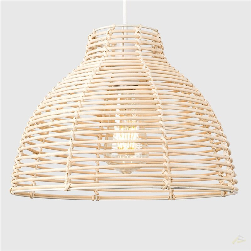 Hand-crafted Rattan Lamp Shade